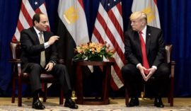 Sisi and Trump discuss Middle East in phone call