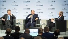 Sisi's speech at Munich Security Conference of 2019.